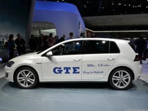 Salón de Ginebra 2014: Volkswagen Golf GTE.