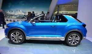 Salón de Ginebra 2014: Volkswagen T-ROC Concept.