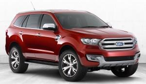 Ford Everest Concept: Una SUV basada en la Ranger.