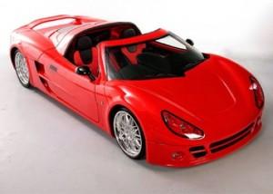 Inizio RTX: un hermoso y veloz deportivo eléctrico.