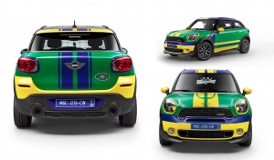 MINI Paceman GoalCooper Edition: un homenaje a Brasil 2014.