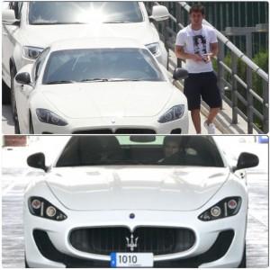 Maserati GranTurismo MC Stradale 2014: uno de los preferidos de Lionel Messi.