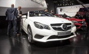 Mercedes Benz Clase E Cabriolet 2014: joven, dinámico y atractivo.