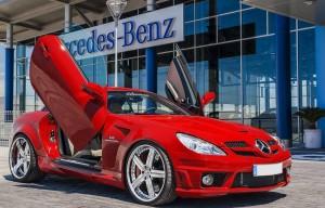 Imágenes del Mercedes Benz GLK 55 AMG By Xclusive.