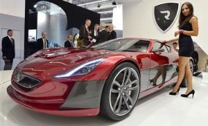 Rimac Concept One: un carro eléctrico de Croacia para el mundo.