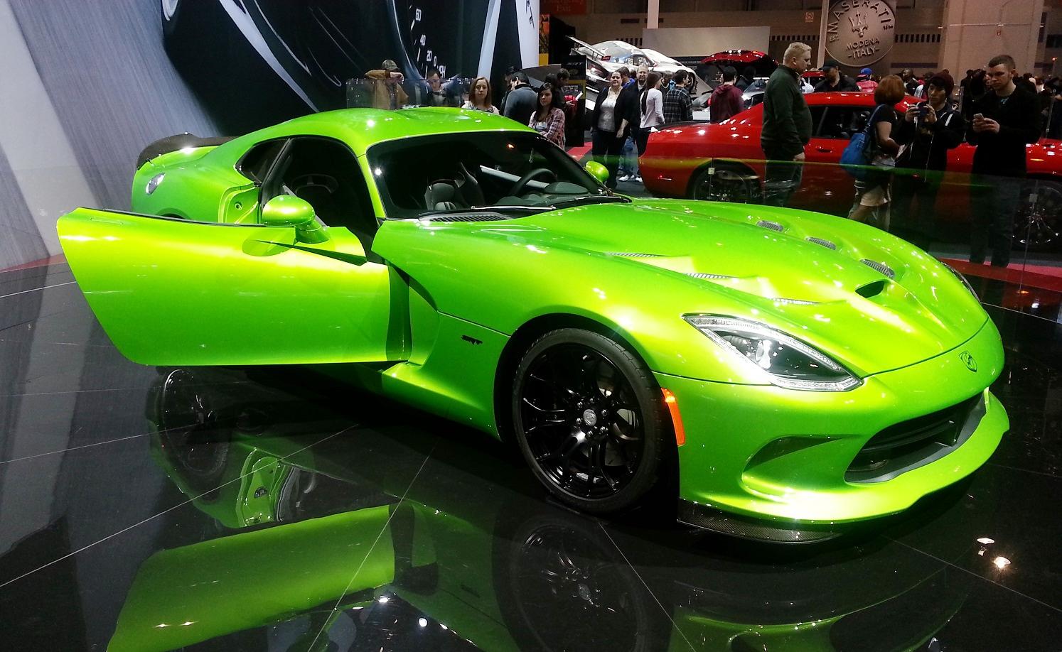 Viper SRT 2014: más potencia, mayor calidad, mejores ...