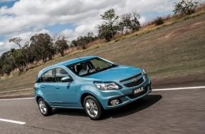 Chevrolet Agile 2014: renovado y más seguro.