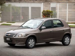 Chevrolet Celta 2014: ahora más equipado para la seguridad.