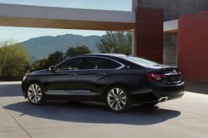 Chevrolet Malibu 2014: renovado y más eficiente.