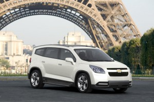 Chevrolet Orlando 2014: elegancia y capacidad.