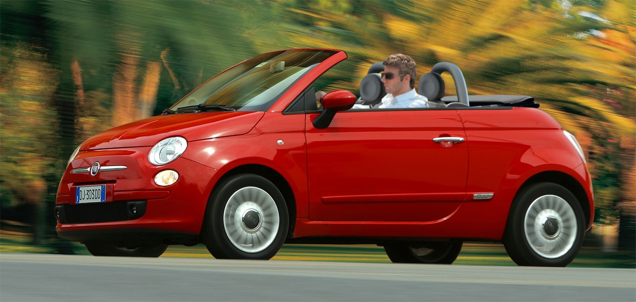 fiat 500 convertible 2014 diversi n al aire libre lista de carros. Black Bedroom Furniture Sets. Home Design Ideas