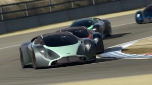Aston Martin DP-100 Vision Gran Turismo Concept.