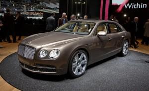 Bentley Flying Spur 2014: lujo, tecnología, poder, exclusividad y potencia.