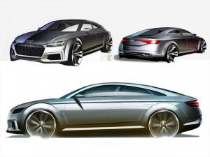 Audi TT Sportback Concept, el TT de cuatro puertas.