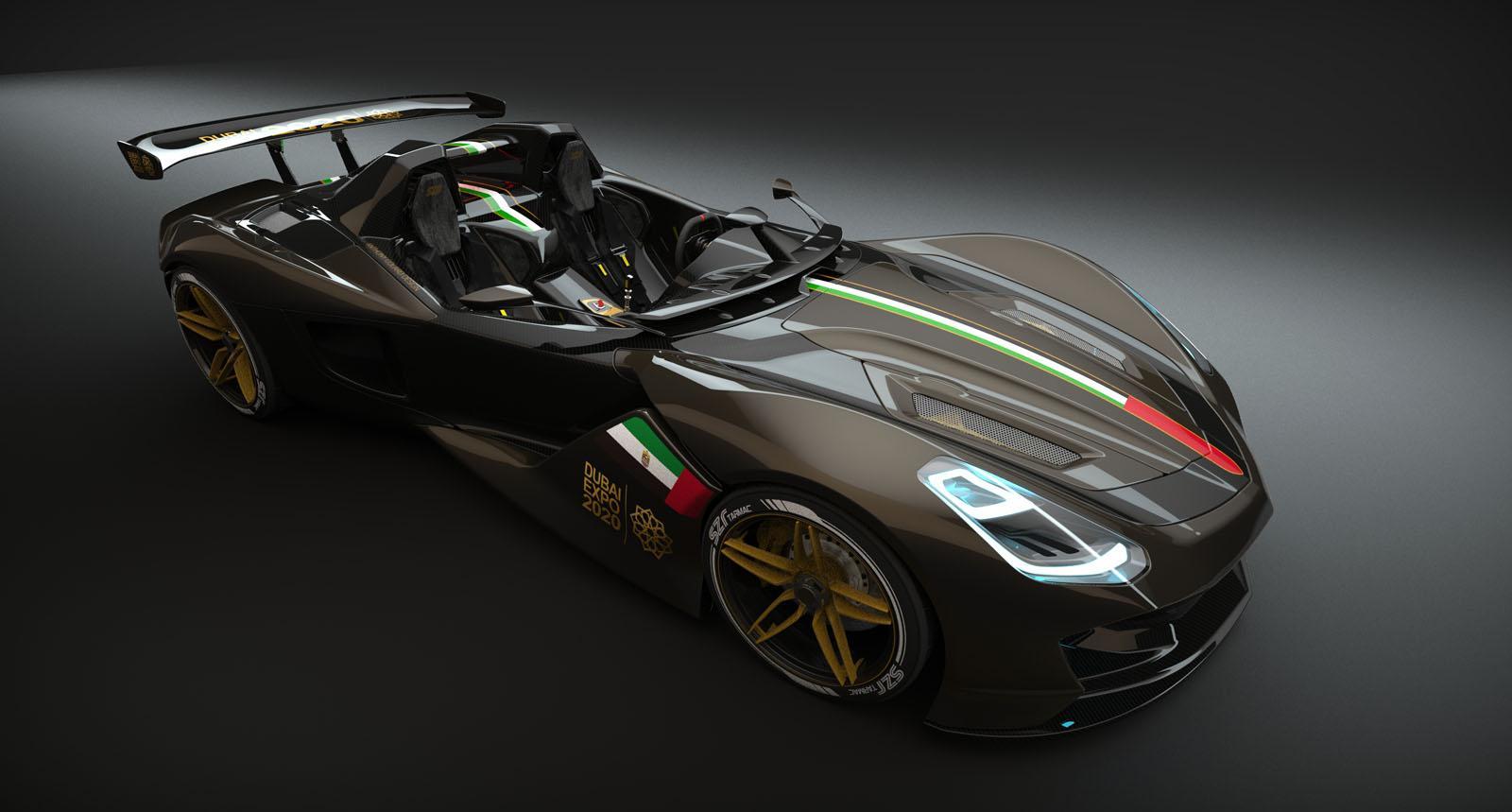 dubai roadster concept  el s u00faper deportivo  u00e1rabe