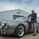 Ian Callum y su Jaguar Mark2.