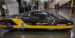 Sunswift eVe: el carro eléctrico solar más rápido del mundo.