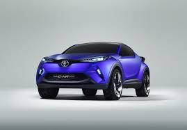 Toyota C-HR Concept, un interesante SUV Compacto hibrido.