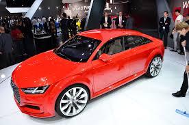 Auto Show de Paris 2014: Imágenes en vivo del Audi TT Sportback Concept.