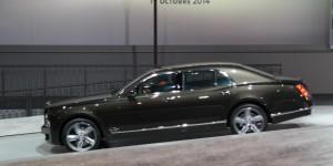 Salón de Paris 2014: Bentley Mulsanne Speed 2015.