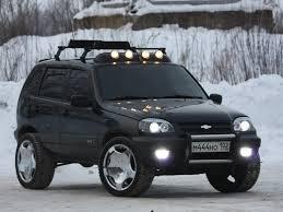 Chevrolet Niva Concept, un todoterreno con aire aventurero.