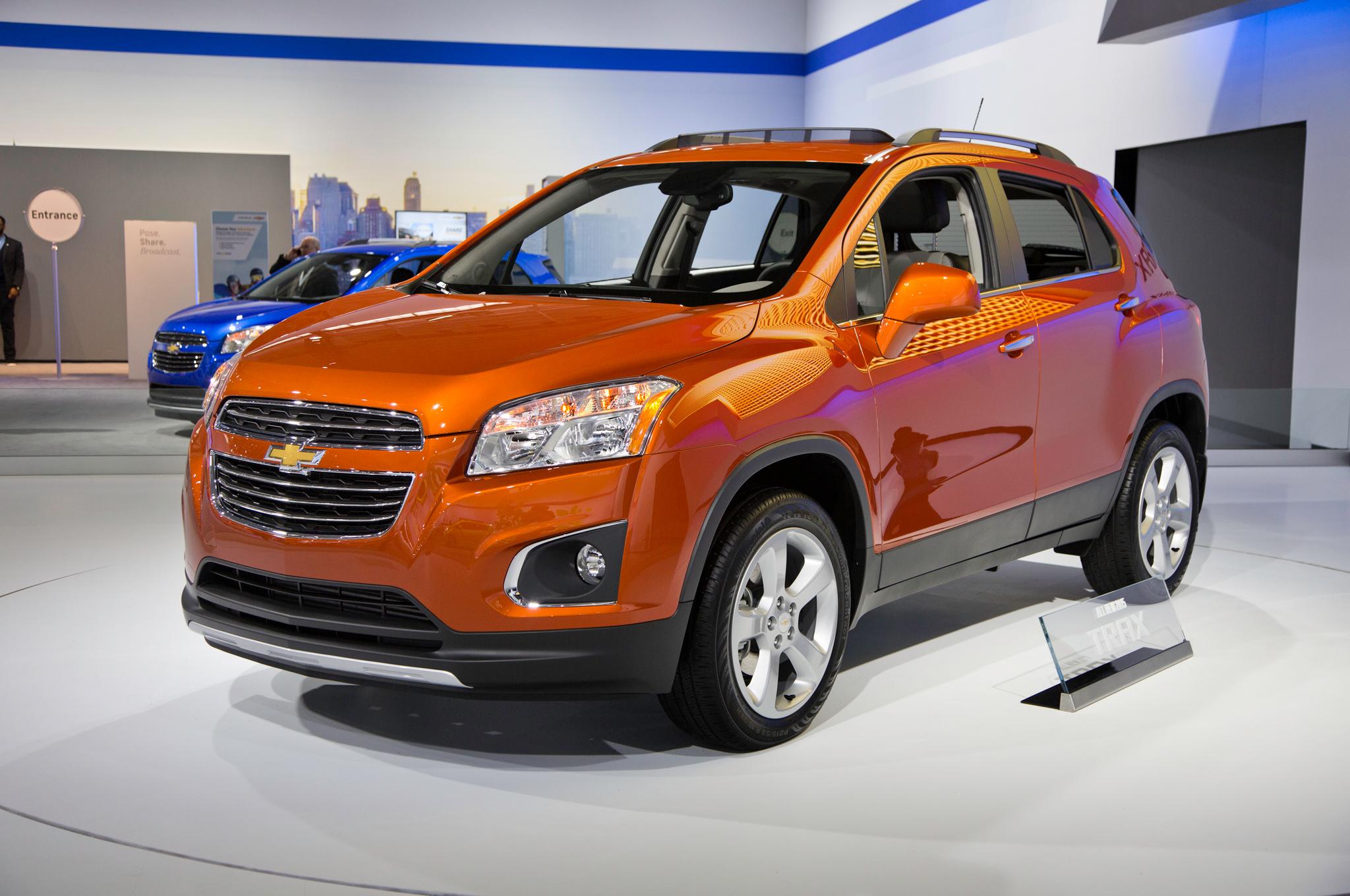 Chevrolet Trax 2015: ahora con importantes cambios en ...