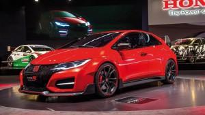 Salón de Paris 2014: Honda Civic Type R Concept, el bólido más potente de la Honda.