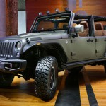 Auto Show de Paris 2014: Jeep Wrangler Unlimited Rubicon Stealth Study.