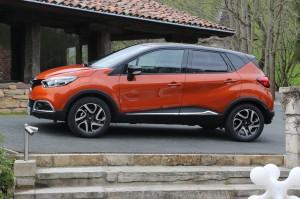Renault Captur 2015: confort y diseño sofisticado.