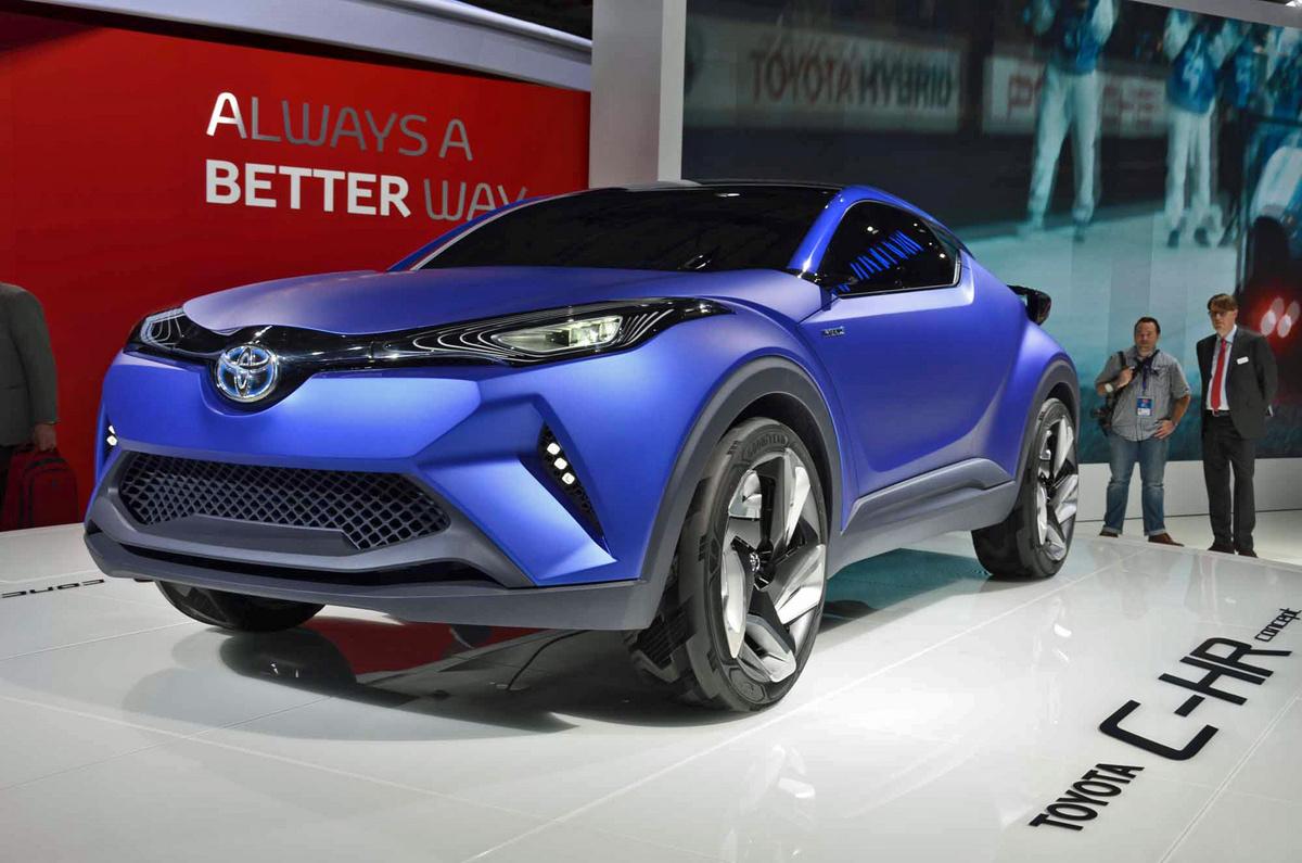 Sal 243 N De Paris 2014 Toyota C Hr Concept Lista De Carros