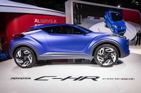 Salón de Paris 2014: Toyota C-HR Concept.