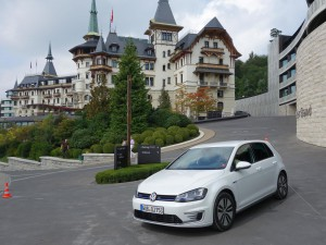 Volkswagen Golf GTE 2015: un interesante hibrido enchufable.