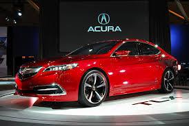 Acura TLX 2015: elegante y con tintes deportivos.