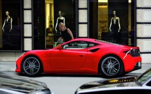 Arteaga GT: un poderoso deportivo de producción limitada.