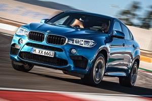 BMW X6M 2015: el BMW de tracción total más potente de la historia.