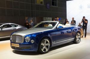 Salón de Los Ángeles 2014: Bentley Grand Convertible, un descapotable de híperlujo.