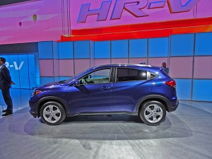 Honda HR-V 2016: Llega la hermana menor de la exitosa CR-V.