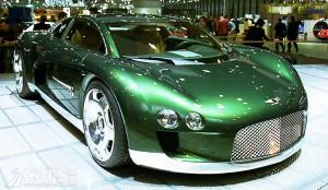 Bentley Hunaudieres ¡!!Lujo, potencia y velocidad!