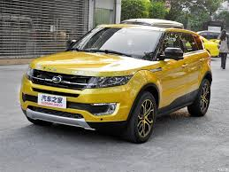 Landwind X7: la copia china Land Rover Evoque.
