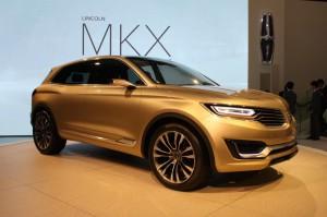 Lincoln MKX Concept: una SUV inspirada en el mundo de los aviones y motocicletas.
