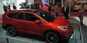 Honda CR-V 2015: atractiva, exitosa, eficiente y muy segura.