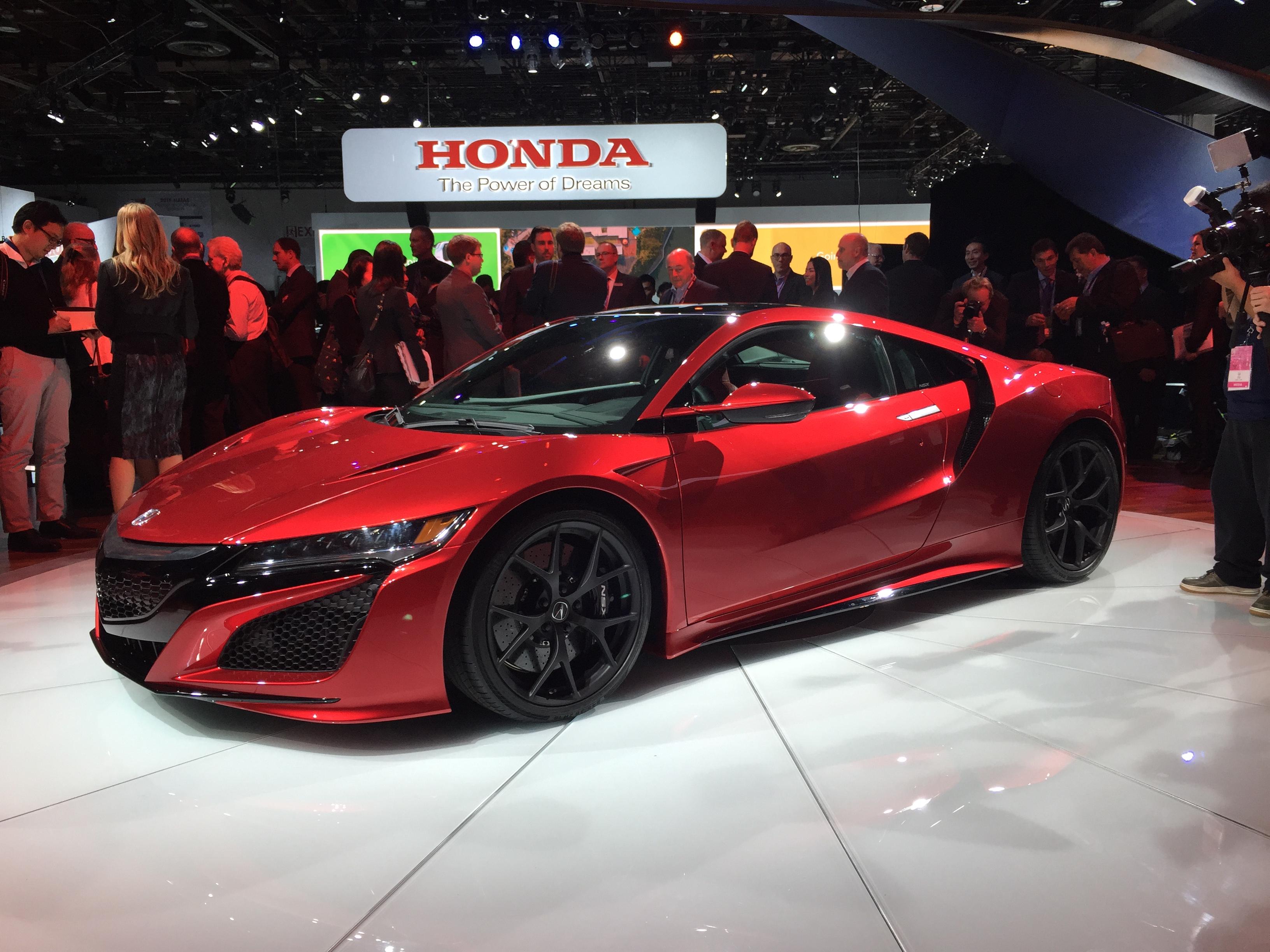 Salón de Detroit 2015: Acura/Honda NSX 2015, lista la ...