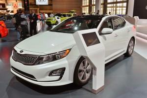 Kia Optima Hybrid 2015: diseño, tecnología, eficiencia y respeto con el medio ambiente.