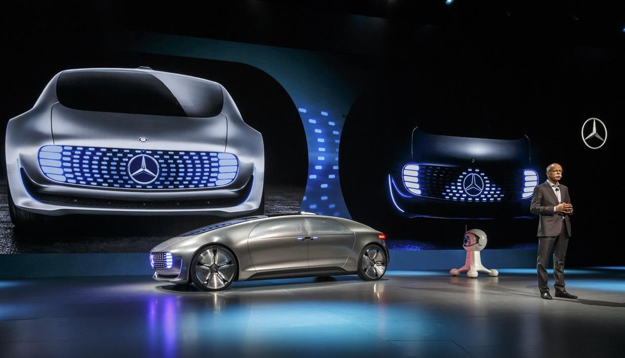 Mercedes Benz F 015 Concept Un Carro El 233 Ctrico Que No