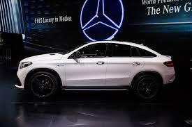 Salón de Detroit 2015: Mercedes Benz GLE  63 AMG Coupé 2016, poder y altas prestaciones.