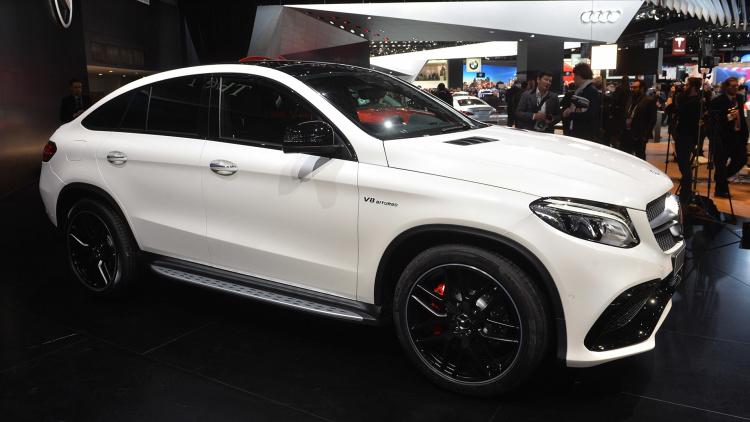 Sal 243 N De Detroit 2015 Mercedes Benz Gle 63 Amg Coup 233 2016