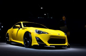 Scion FR-S 2015: un divertido y vistoso Coupé.