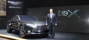 Auto Show de Ginebra 2015: Aston Martin DBX.