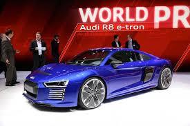 Salón de Ginebra 2015: Audi R8 e-tron, un ultradeportivo eléctrico, hermoso y exclusivo.