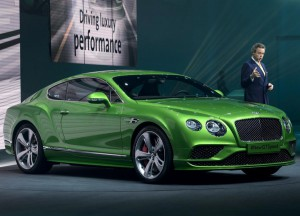 Salón de Ginebra 2015: Bentley Continental GT 2015, lujoso, exquisito y costoso.